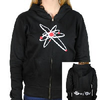 IMAGE | Strung Out - Womens Astrolux Zip-Up Hoodie