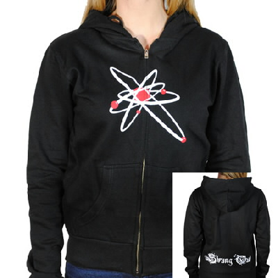 Strung Out - Womens Astrolux Zip-Up Hoodie