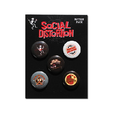 Social Distortion - Button Pack #2