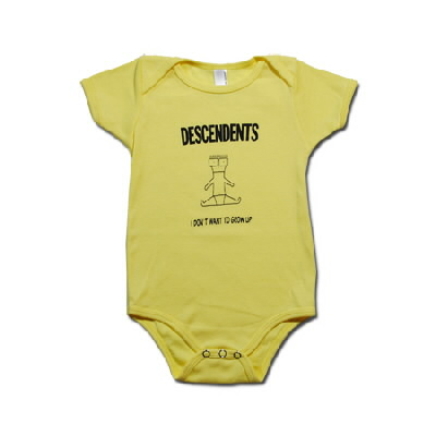 IMAGE | Descendents - I Don't Want To Grow Up Onesie (Yellow)