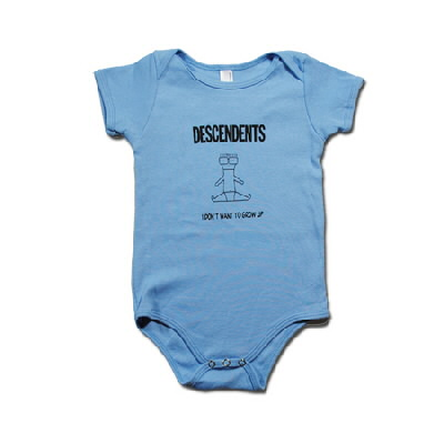 IMAGE | Descendents - I Don't Want To Grow Up Onesie (Blue)