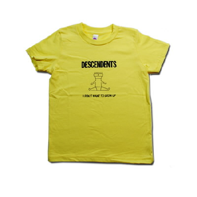 IMAGE | Descendents - I Don't Want To Grow Up Toddler Tee (Yellow)