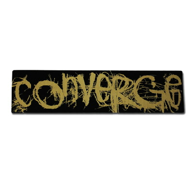 Converge Old Logo Sticker - Sticker