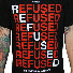 DETAIL IMAGE | Refused - New Noise Red Tee