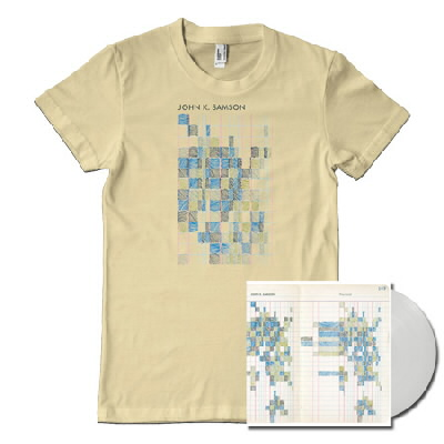 John K. Samson - Provincial LP (White) & Shirt (Natural)