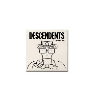 "IMAGE | Descendents - 'Merican Clear Sticker (5"" x 5"") - Clear"