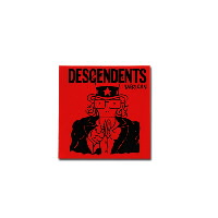 "IMAGE | Descendents - 'Merican Red Sticker (5"" x 5"")"