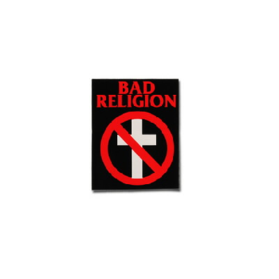 "Bad Religion - Cross Buster Sticker (3"" x 4"")"