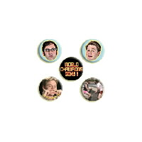 IMAGE | Tim and Eric - Tim and Eric Pin Set