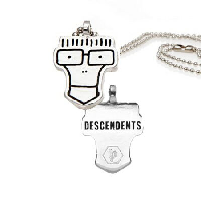 Descendents - Milo Head Necklace