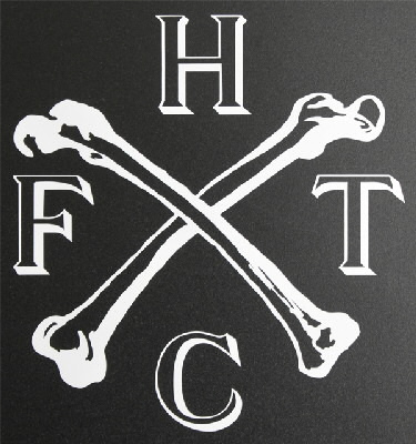 "Frank Turner - Bones Decal (5"" x 5"") - 5"" x 5"""