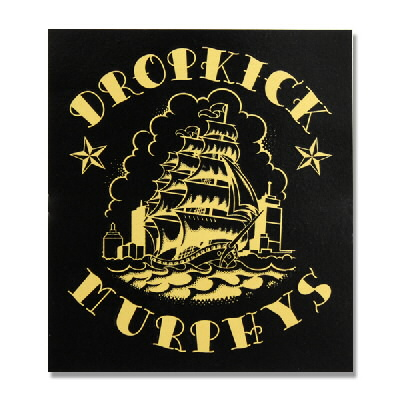 dropkick-murphys - Shipping Up Tattoo Sticker