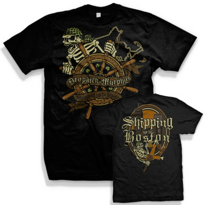 dropkick-murphys - Shipping Up To Boston Tee (Black)