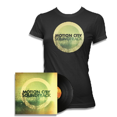 Motion City Soundtrack - Go LP and Album T Womens