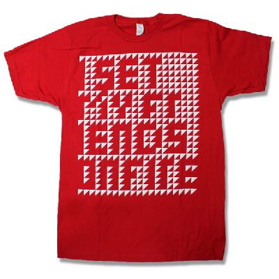 I Set My Friends On Fire - Red Triangles Tee