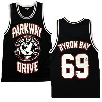 IMAGE | Parkway Drive - Byron Bay Basketball Jersey