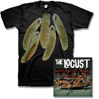 IMAGE | The Locust - Molecular Genetics From The Gold Standard Labs CD & Wounded Locust Shirt