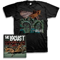 IMAGE | The Locust - Molecular Genetics From The Gold Standard Labs CD & Self Titled Shirt