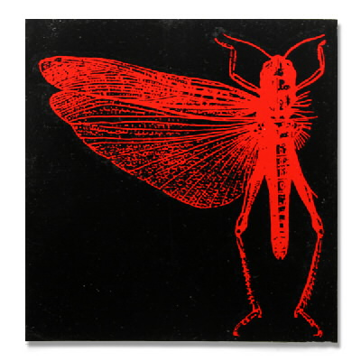 Anti Records - Locust Red Bug - Sticker
