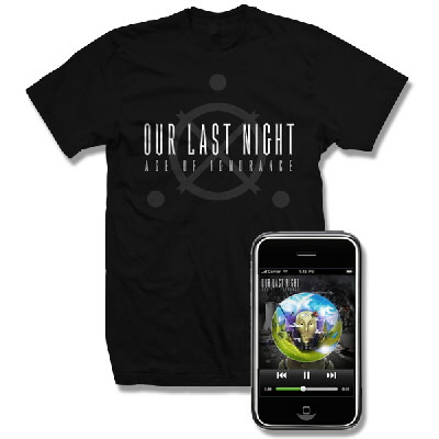 Our Last Night - Age Of Ignorance Digital Download and Logo Shirt