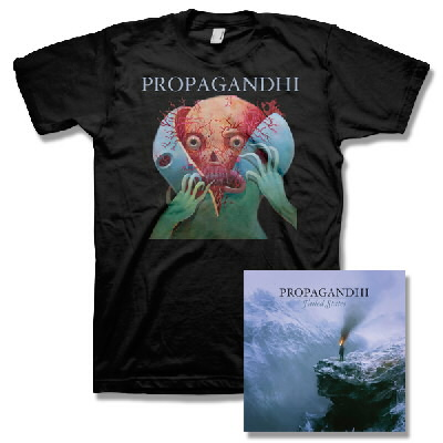 Propagandhi - Failed States CD & Splitter Tee