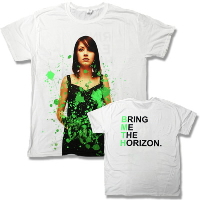 Bring Me The Horizon - Green Girl Shirt