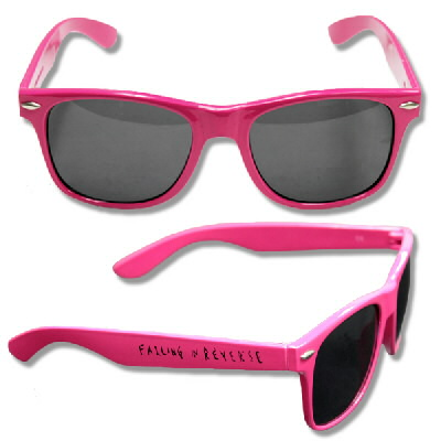 Falling In Reverse - FIR Sunglasses (Pink)