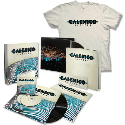 Calexico - Algiers Limited Box Set & Album Tee
