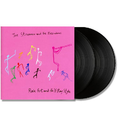 Joe Strummer Rock Art & X-Ray LP