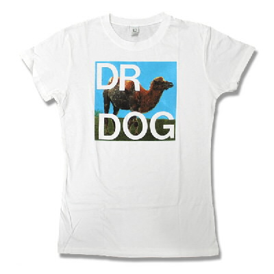 Dr. Dog - Womens Camel Tee