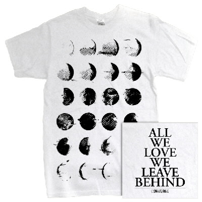 converge - Moon Phase Tee (White)