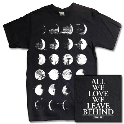 Converge - Moon Phase T-Shirt (Black)