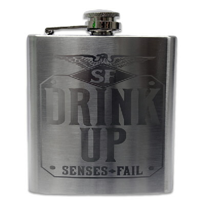 Senses Fail - Drink Up Flask