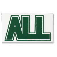 IMAGE | ALL - Logo Sticker (green)