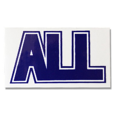 ALL - Logo Sticker (Blue)