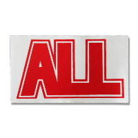 IMAGE | ALL - Logo Sticker (red)