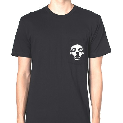 Jane Doe Pocket T-Shirt (Black)