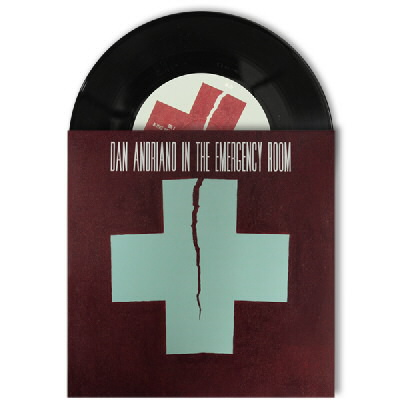 "Dan Andriano In The Emergency Room - Of Peace, Quiet & Monsters 7"" - Black"