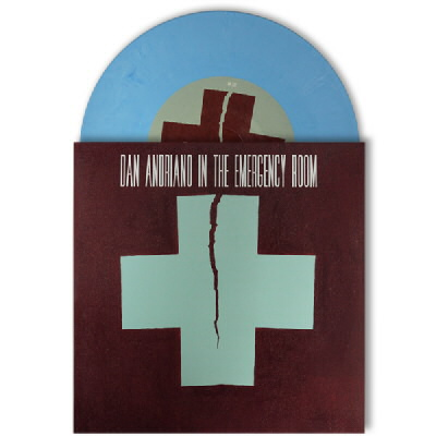 "Dan Andriano In The Emergency Room - Of Peace, Quiet & Monsters 7"" - Seafoam Blue"