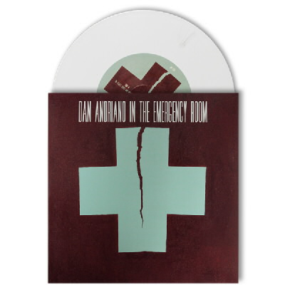 "Dan Andriano In The Emergency Room - Of Peace, Quiet & Monsters 7"" - Opaque White"