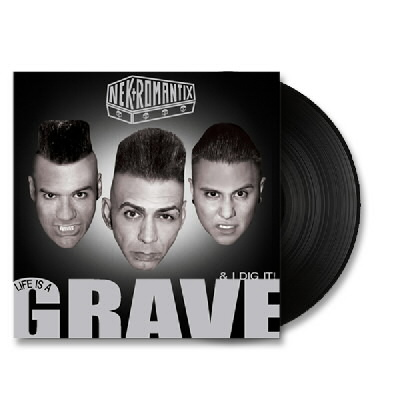 Nekromantix - Life Is A Grave and I Dig It - LP