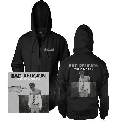 Bad Religion - True North LP (black) & Album Hoodie