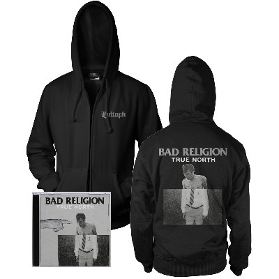 Bad Religion - True North CD & Album Hoodie