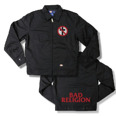 IMAGE | Bad Religion - BR Embroidered Dickies Jacket