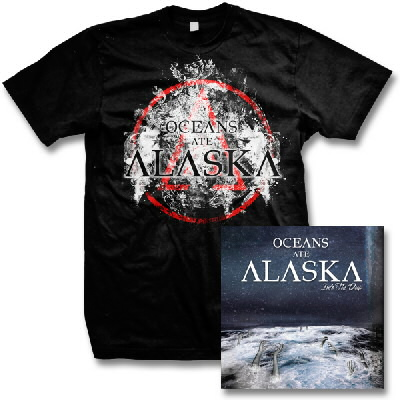 Oceans Ate Alaska - Into The Deep CD & Crest Tee