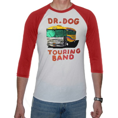 IMAGE | Dr. Dog - Touring Bus Baseball Tee