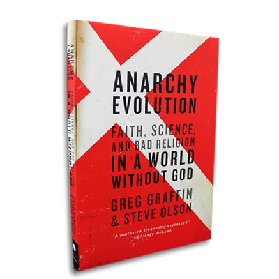 greg-graffin - Anarchy Evolution Book (Paperback)