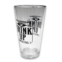 IMAGE | Senses Fail - Senses Fail Drink Up Pint Glass - Pint Glass