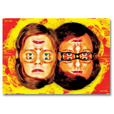 "tim-and-eric - Faces 24""x36"" Poster"