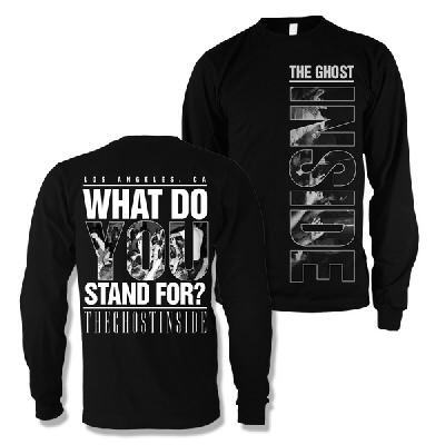 IMAGE | What Do You Stand For Crewneck (Black)